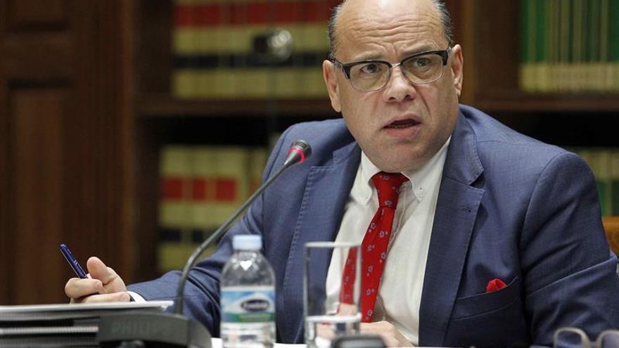 El consejero de Presidencia, Justicia e Igualdad del Gobierno de Canarias, José Miguel Barragán.