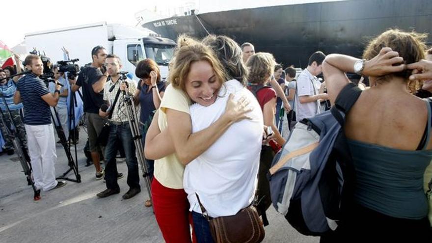 De la llegada de los activistas #10