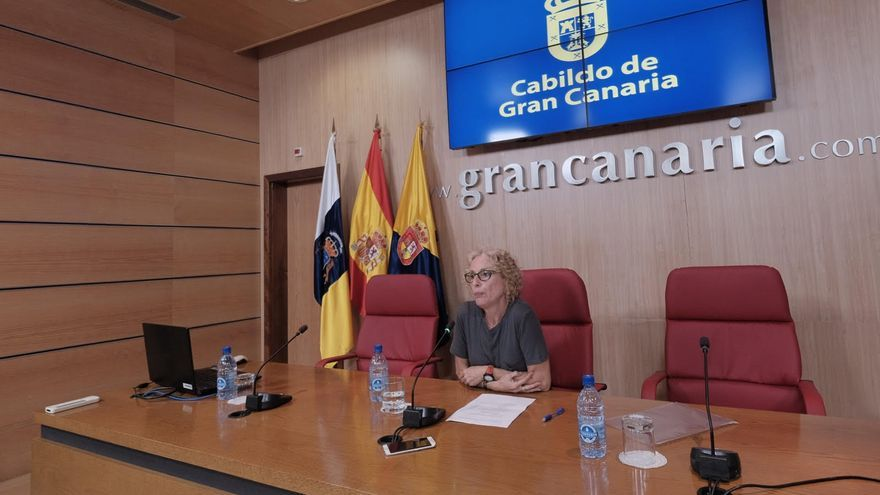 La consejera de Igualdad del Cabildo de Gran Canaria, María Nebot.