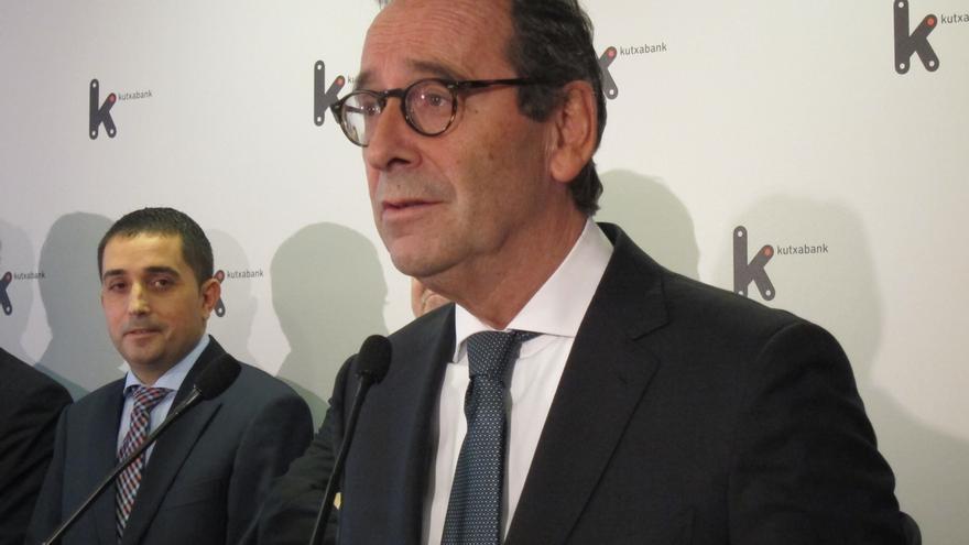 Gregorio Villalabeitia, presidente de Kutxabank.