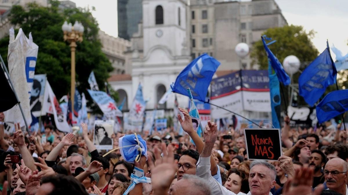 Marcha por el Día de la Memoria