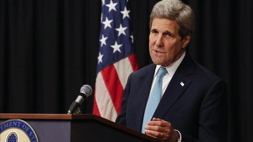 Kerry analiza con el presidente Hadi en Riad el conflicto en el Yemen