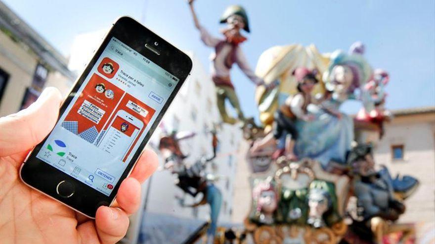 """La """"app"""" fallera Traca, el tablón de anuncios 2.0 que ya usan 530 comisiones"""