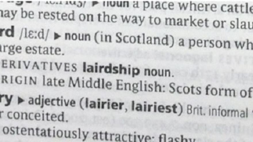 El significado de 'laird', una de las puertas por las que se cuela el fraude de los títulos nobiliarios vendidos en internet