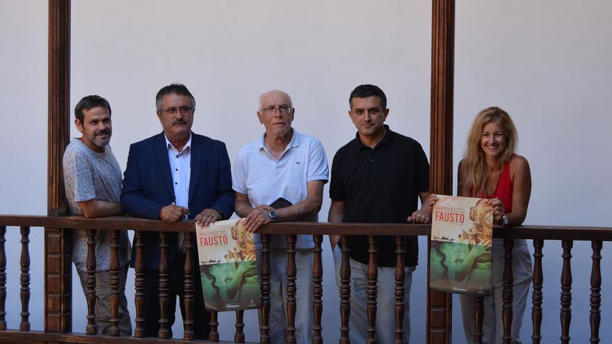 Presentación de 'Proyecto Fausto'.