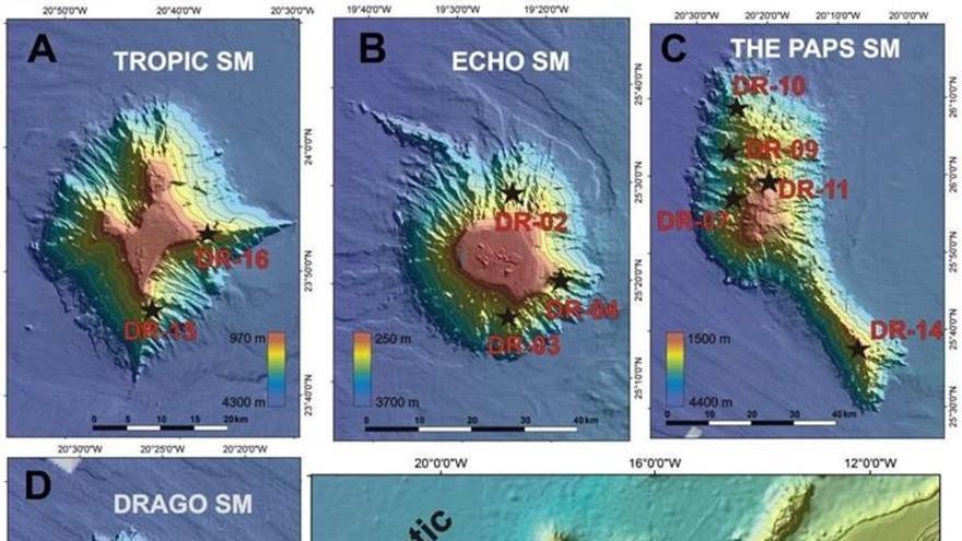 Una expedición científica internacional estudiará los montes submarinos de Canarias.