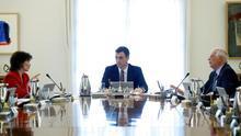 Imagen de la reunión del Consejo de Ministras.