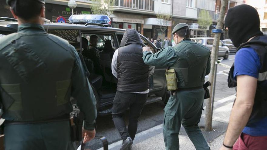 Ocho detenidos en País Vasco y Madrid en una operación contra el narcotráfico