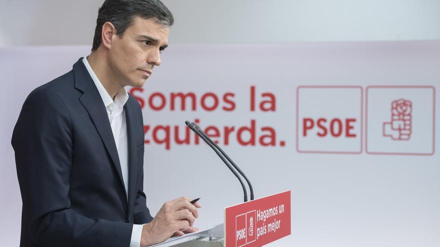 Una encuesta del PSOE sitúa a Sánchez 5,2 puntos por encima de Ciudadanos y muy cerca del PP