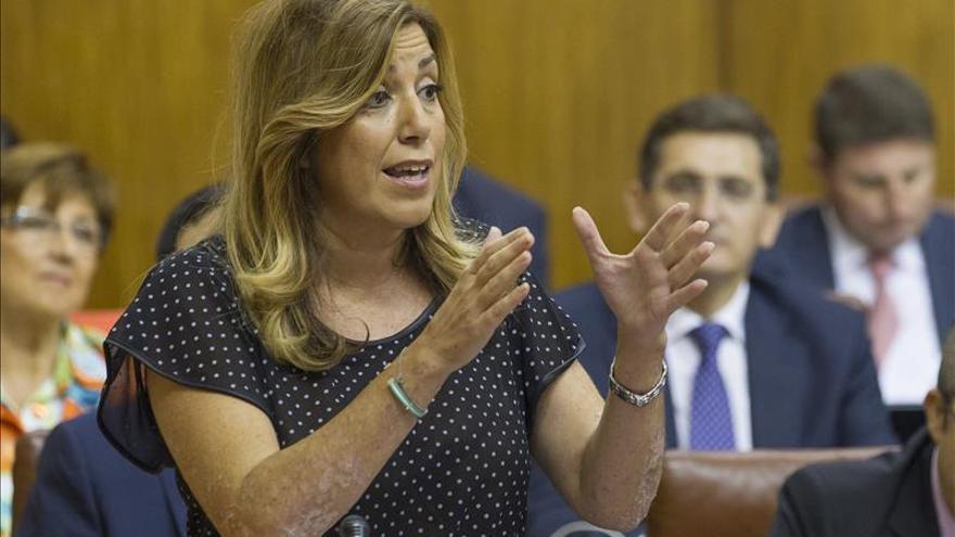"""Díaz acusa al Gobierno de querer mantener """"prebendas"""" con fondos de Andalucía"""