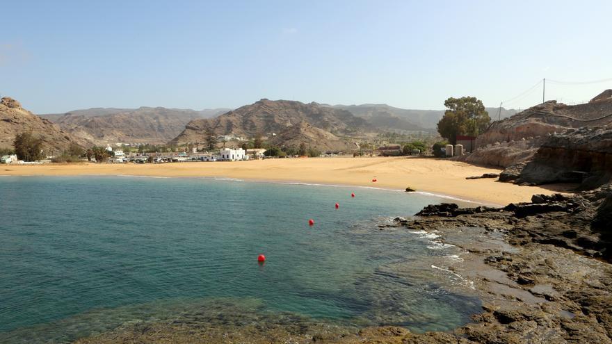 Playa Anfi Tauro (ALEJANDRO RAMOS)