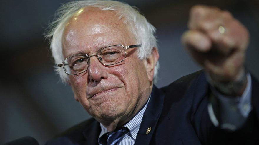 Bernie Sanders en un mitin en Santa Monica, California, en junio de 2016.