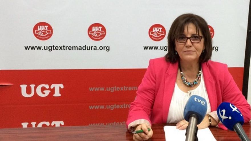 Patrocinio Sánchez / Twitter @UGTExtremadura