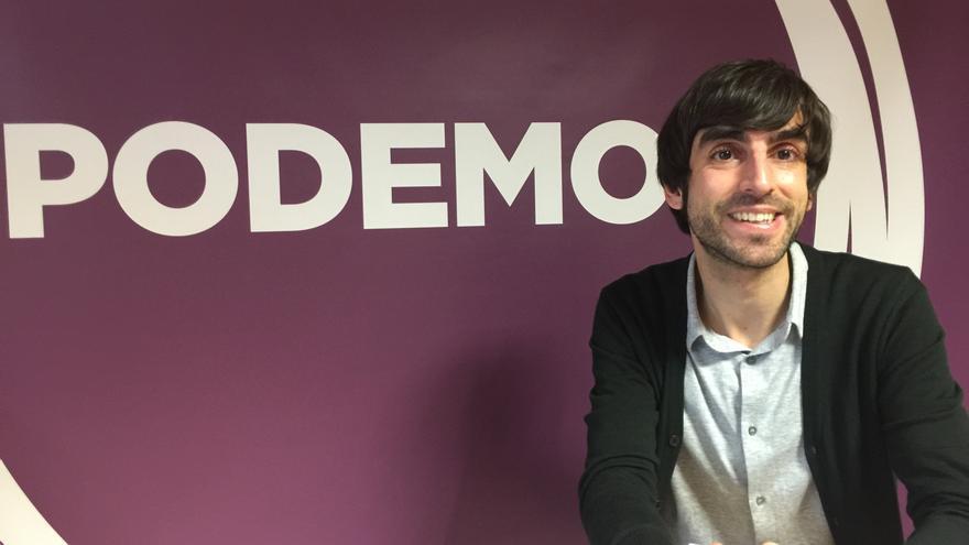 Eduardo Maura, candidato de Podemos por Bizkaia.