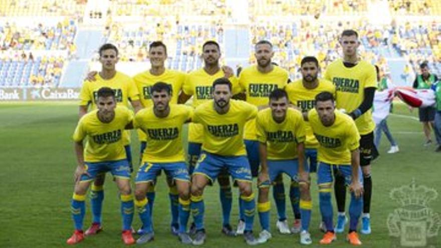 Los jugadores amarillos lanzan un mensaje de apoyo a los ciudadanos de Gran Canaria afectados por los incendios