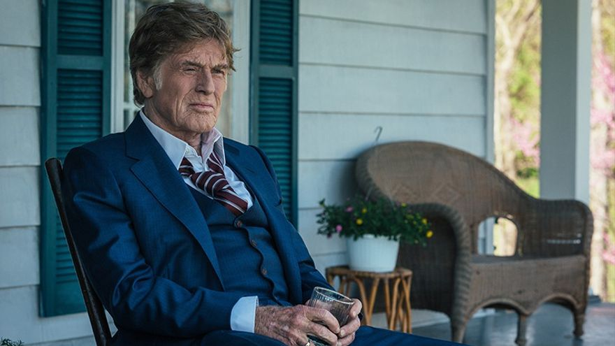 Robert Redford, en un fotograma de la película 'Old men and the gun'
