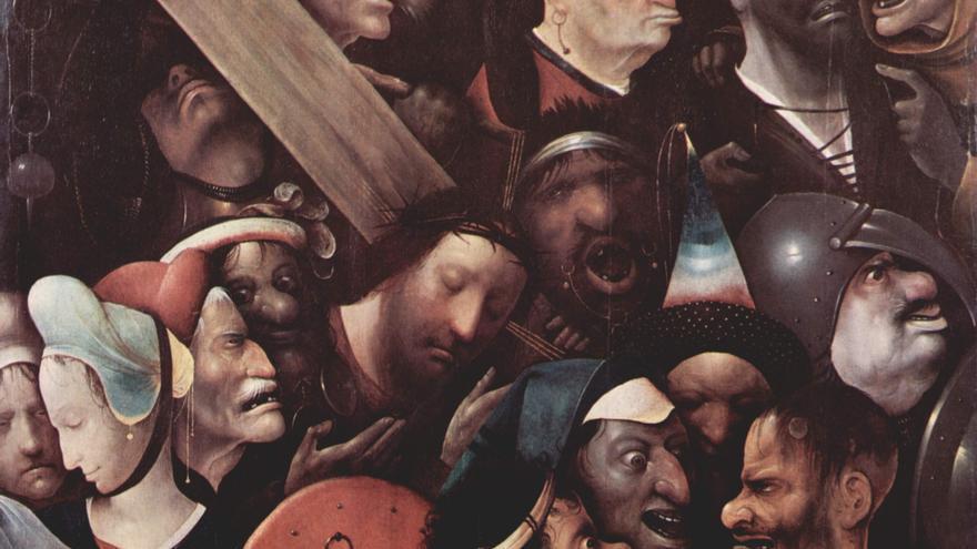 Cristo llevando la cruz a cuestas
