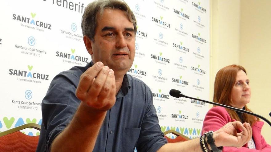 Pedro Fernández Arcila, concejal de Sí se puede (SSP) en el Ayuntamiento de Santa Cruz de Tenerife.