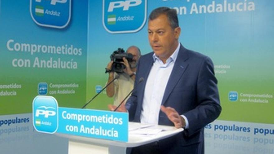 El secretario general del PP-A, José Luis Sanz