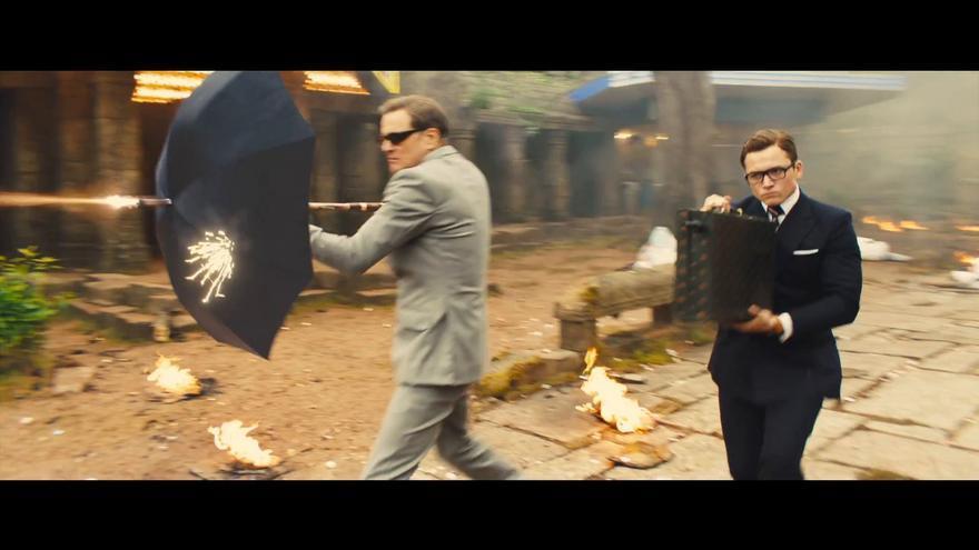 Fotograma de la película 'Kingsman 2'