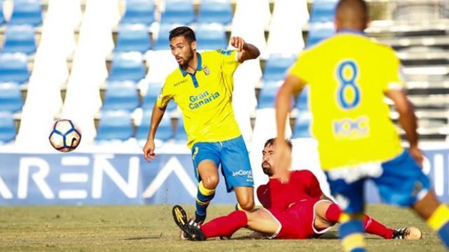 Amistoso entre la UD Las Palmas y el Lorca FC