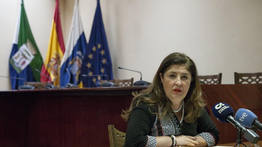 Belén Allende, presidenta del Cabildo de El Hierro