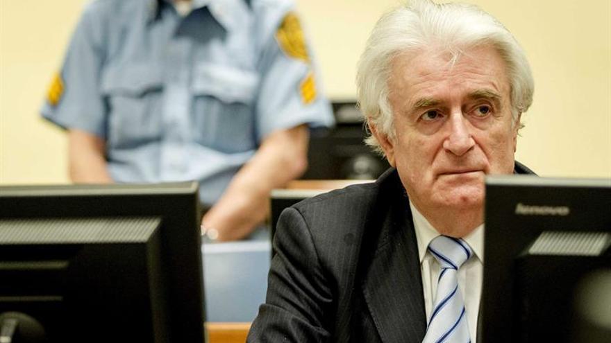 """Para Karadzic, Srebrenica fue una """"idiotez"""" de una """"mente trastornada"""""""