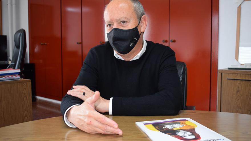 El secretario general de UGT-PV, Ismael Sáez.