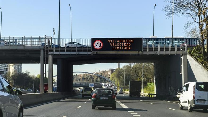 Madrid cerrará al tráfico el centro en junio de 2018 para reducir las emisiones