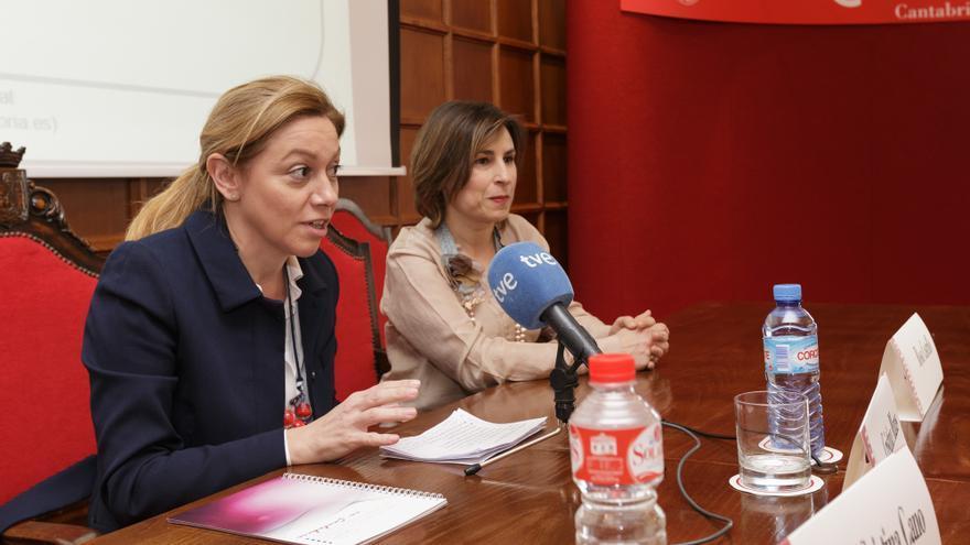 Mazas, consejera de Economía, ha sido la artífice de la primera Ley de Cooperativas de Cantabria.