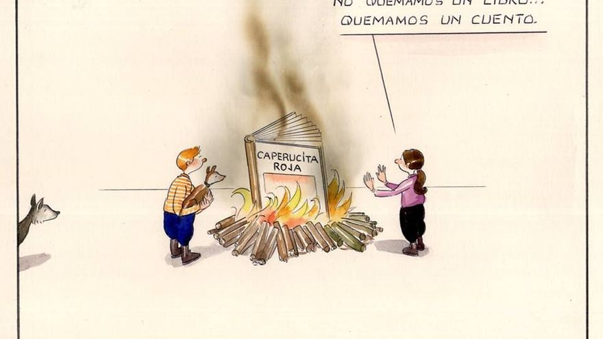 Viñeta del artista Paco Catalán.