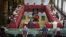 Vox abandona la Comisión por el futuro de Zaragoza en protesta por el pacto del Gobierno con EH Bildu