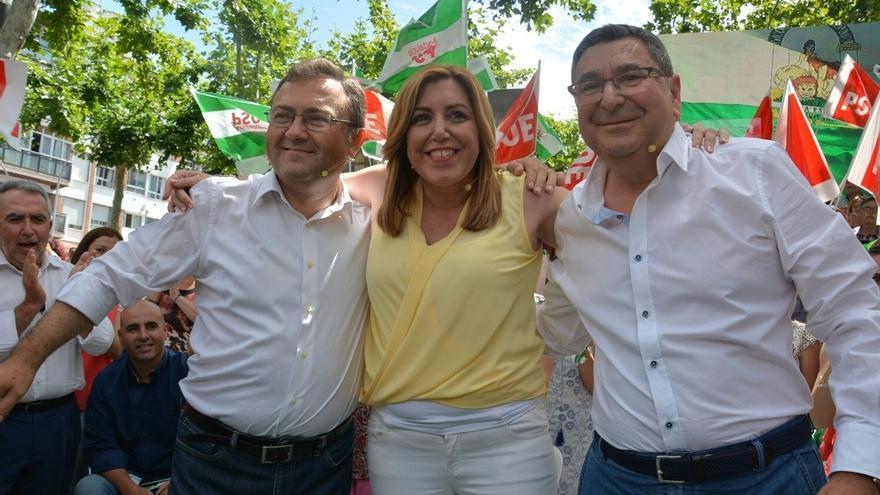 """Díaz, a Iglesias: """"Los votos de los andaluces no van a servir para pagar los privilegios de Colau"""""""