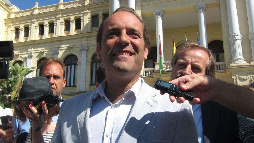 Cassá (C's) descarta exigir en las negociaciones ser alcalde de Málaga