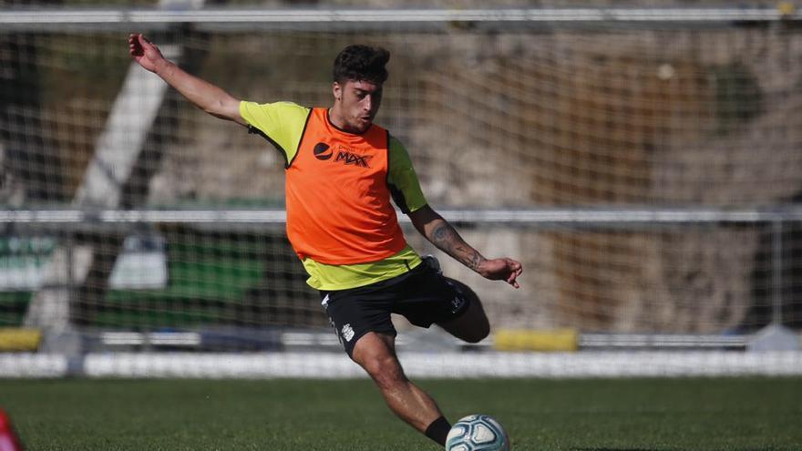 Álvaro Lemos, jugador de la UD Las Palmas.