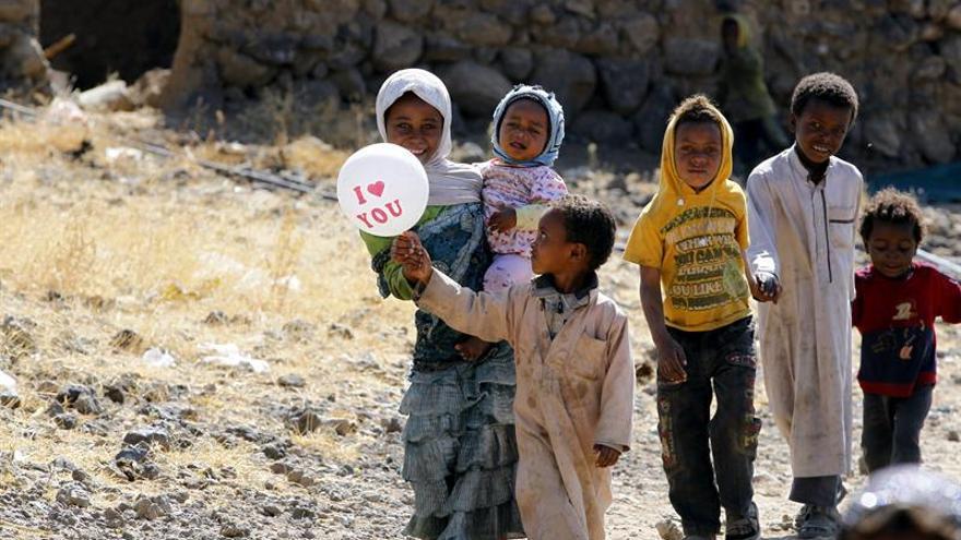 Más de 2 millones de niños sufren malnutrición aguda en Yemen, alerta UNICEF