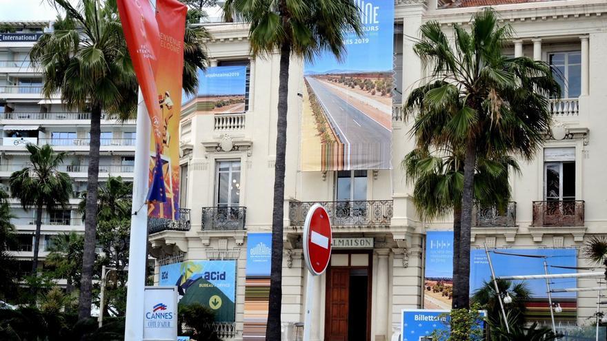 Palacio de La Quinzaine des Realisateurs durante el 72º Festival de Cine de Cannes.