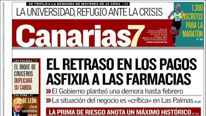 De las portadas del día (15/11/2011) #2