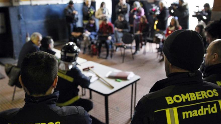 Los bomberos de Madrid acusan a la Policía de perseguirles para dañar su imagen