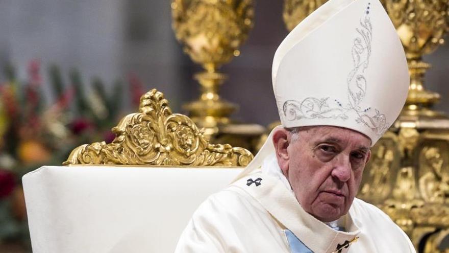 El papa pide que la conferencia de Berlín sirva para fomentar la paz en Libia