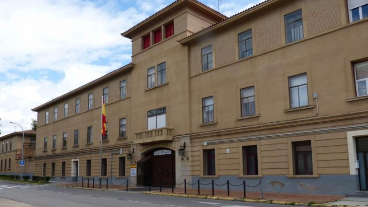 Cuartel Sancho Ramírez de Huesca