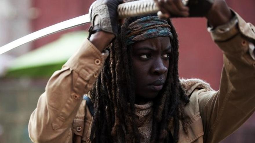 Michonne de 'The Walking Dead' luchará junto a 'Black Panther' en Marvel