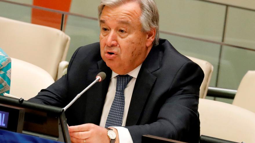 La ONU pide reabrir escuelas en cuanto sea posible para evitar una catástrofe