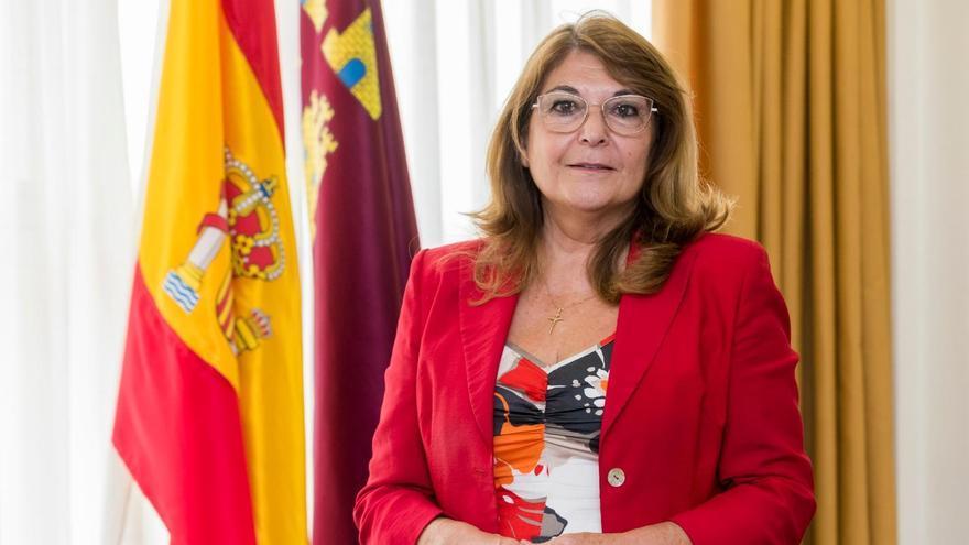 La recién nombrada consejera de Educación y Cultura en la Región de Murcia Mabel Campuzano