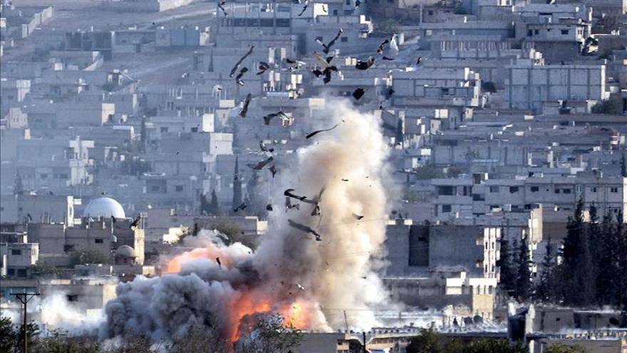 EE.UU. participó en 14 ataques aéreos contra el EI en los últimos tres días