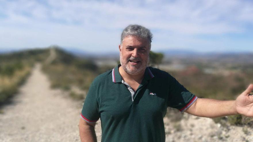 Mariano Vicente Albaladejo, candidato de Podemos + EQUO a la alcaldía de Molina de Segura