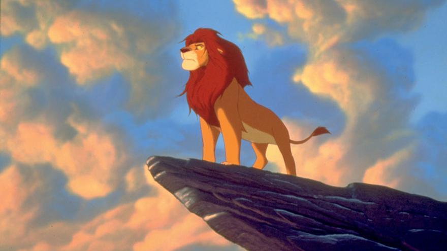 Fotograma de la película de Disney El rey león