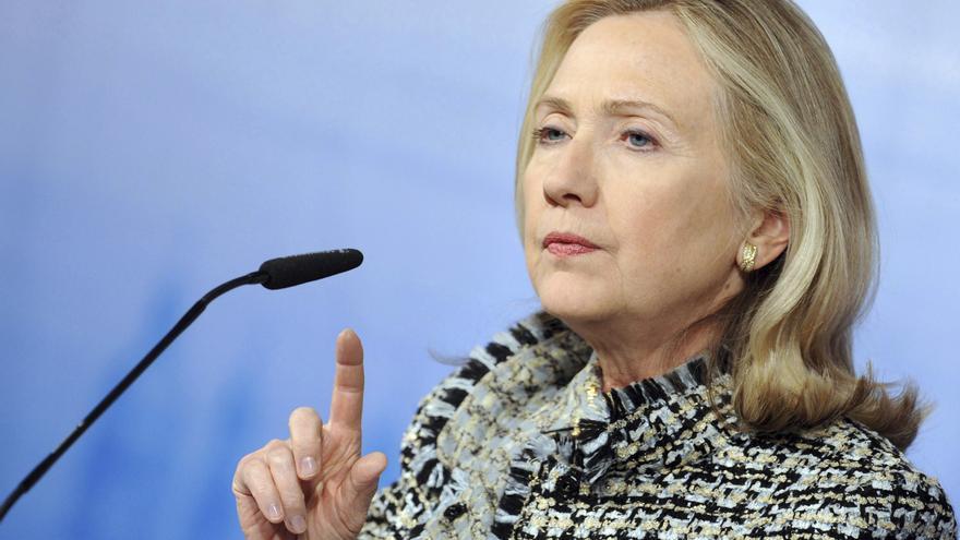 Hillary Clinton se reúne con Suu Kyi en su primera visita a Estados Unidos