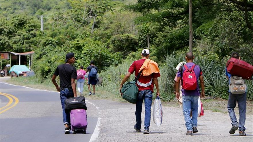 Imagen de archivo. El grupo de la OEA para abordar la migración venezolana viajará a Colombia la próxima semana