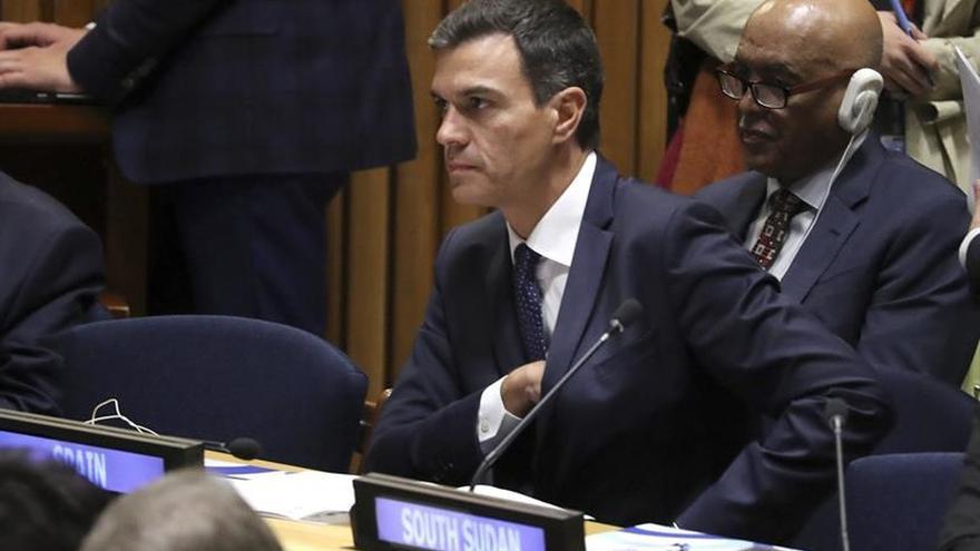Sánchez: Lo de Cataluña es como si Nueva York pide la independencia y el gobernador huye